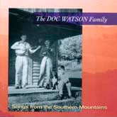 DOC WATSON FAMILY 'Songs From the Southern Mountains' SH-3829-CD