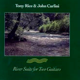 TONY RICE 'River Suite for Two Guitars' (with Carlini) SH-3837-CD