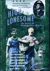 VARIOUS ARTISTS 'High Lonesome: The Story of Bluegrass Music' DVD