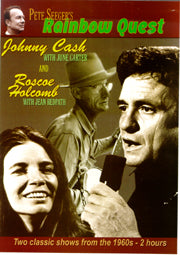 JOHNNY CASH & JUNE CARTER & ROSECOE HOLCOMB 'Pete Seeger's Rainbow Quest'