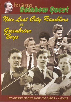 NEW LOST CITY RAMBLERS & THE GREENBRIAR BOYS 'Rainbow Quest DVD'