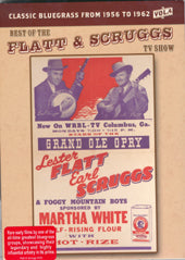 FLATT & SCRUGGS 'Best Of The Flatt & Scruggs TV Show Vol. 4' SHAN-614-DVD