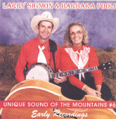 LARRY SIGMON & BARBARA POOLE 'Early Recordings'