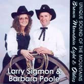 LARRY SIGMON & BARBARA POOLE 'Brown Mountain Light & Oldies'