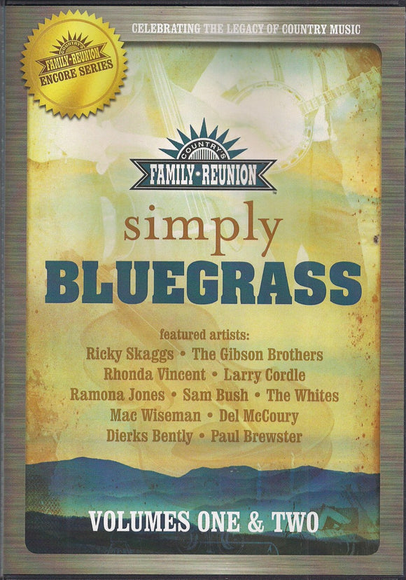 VARIOUS ARTISTS 'Simply Bluegrass Volumes One & Two'
