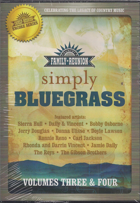 VARIOUS ARTISTS 'Simply Bluegrass Volumes Three & Four'