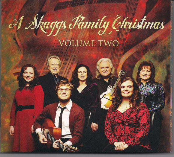 A SKAGGS FAMILY CHRISTMAS 'Volume 2' SKFR-1012-CD/DVD