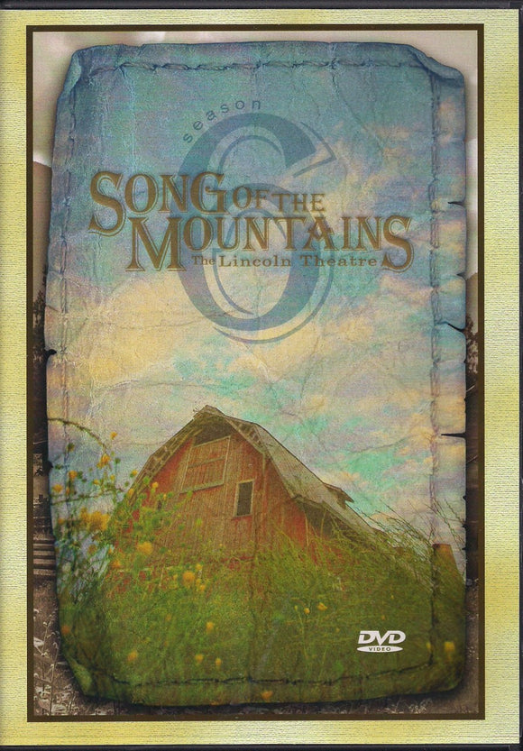 VARIOUS ARTISTS 'Song of the Mountains - Season 6' SOTM-2011-DVD