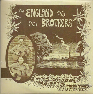 THE ENGLAND BROTHERS 'Twilight in Alabama: Old Time Southern Tunes' SFR-33036-CD