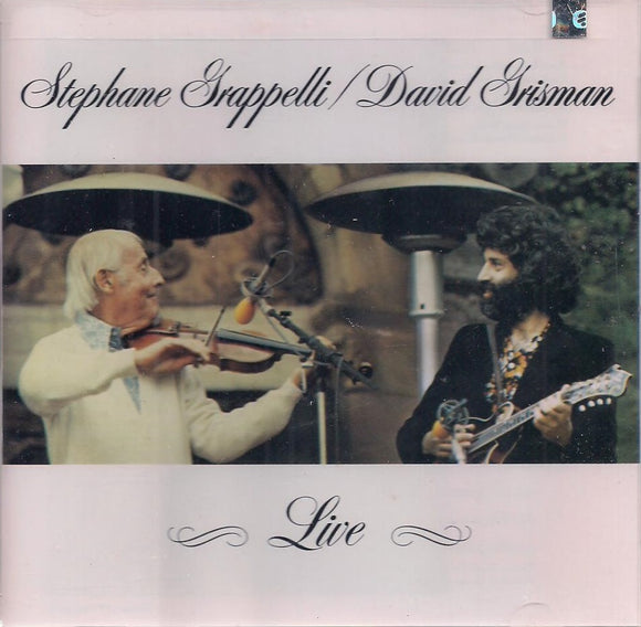 STEPHANE GRAPPELLI & DAVID GRISMAN 'Live' WB-3550-2