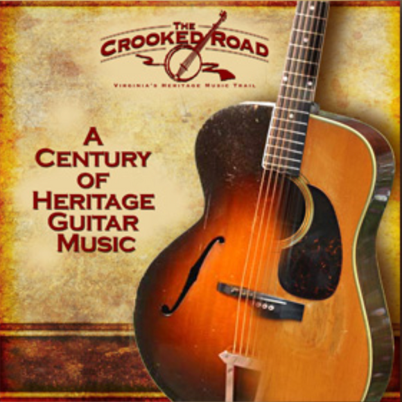 VARIOUS 'The Crooked Road: A Century of Heritage Guitar Music' TCR-004-2CD