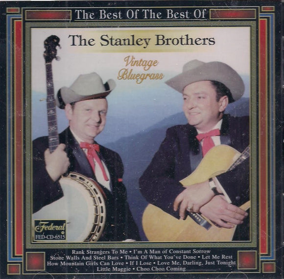 THE STANELY BROHTERS 'The Best of the Best of' FED-6515