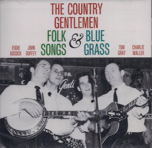 THE COUNTRY GENTLEMEN 'Folk Songs & Bluegrass' SF-40022-CD