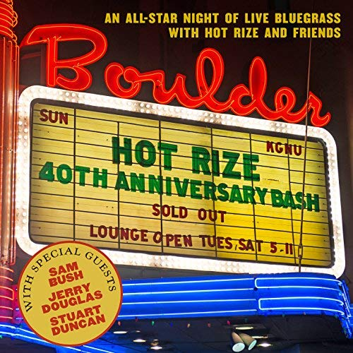 HOT RIZE  '40TH Anniversary Bash'   THR-9002-CD