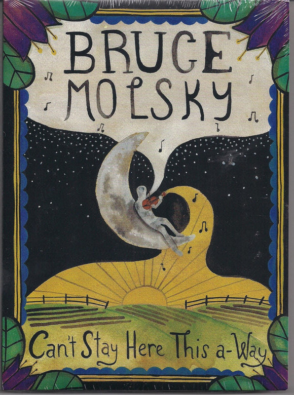 BRUCE MOLSKY 'Can't Stay Here This a-Way' TIKI-006-DVD/CD