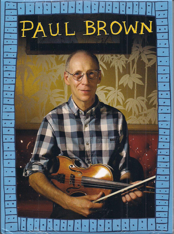 PAUL BROWN 'Tiki Parlour Recordings' TIKI-011-DVD/CD