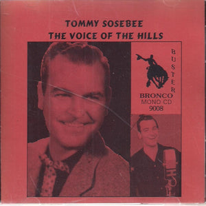 TOMMY SOSEBEE 'The Voice of the Hills' CD-9008