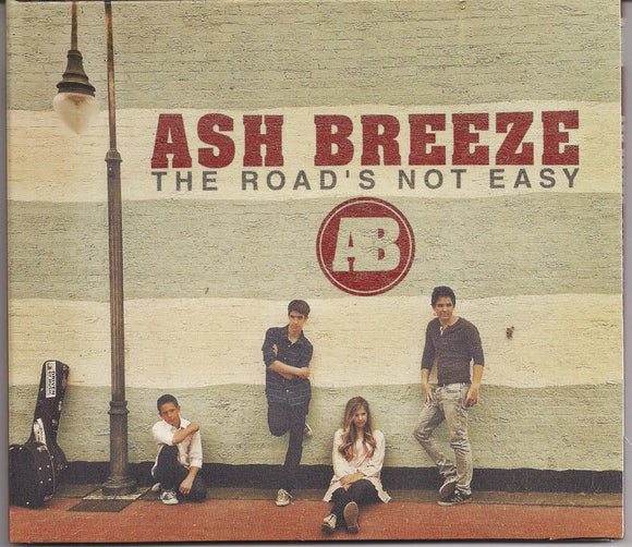 ASH BREEZE 'The Road's Not Easy'      TR-150710-CD