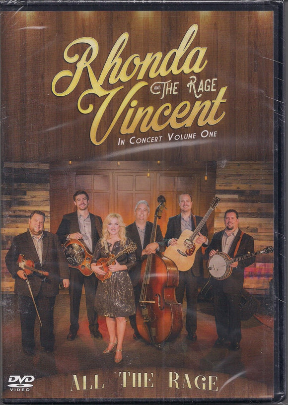 RHONDA VINCENT AND THE RAGE 'All the Rage - In Concert Volume One - DVD'