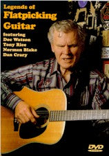 VARIOUS ARTISTS 'Legends Of Flatpicking Guitar' VESTA-13005-DVD