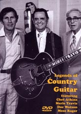 VARIOUS ARTISTS 'Legend Of Country Guitar'