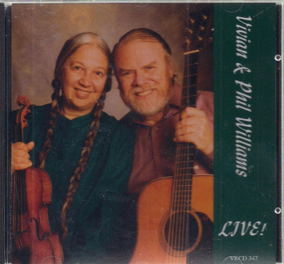 VIVIAN & PHIL WILLIAMS 'LIVE!'