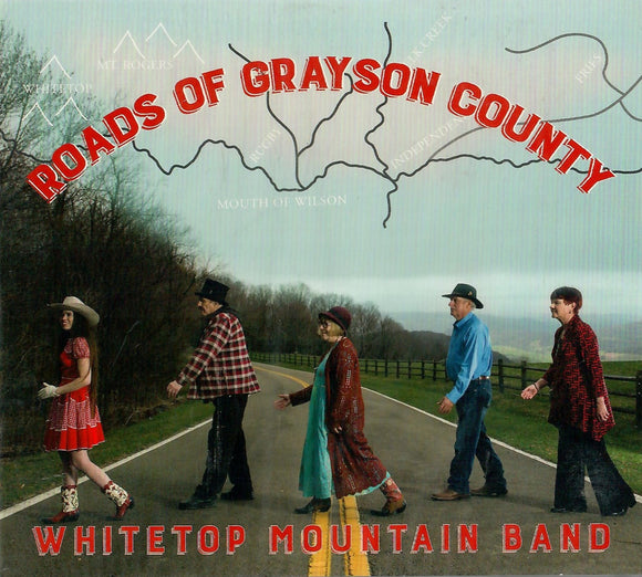 WHITETOP MOUNTAIN BAND 'Roads of Grayson County' WMB-2016