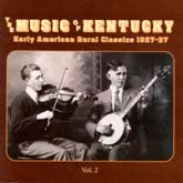 VARIOUS ARTISTS 'Music of Kentucky, Vol. 2'