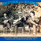 VARIOUS ARTISTS 'Before the Blues, Vol. 2'