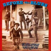 VARIOUS ARTISTS 'Before the Blues, Vol. 3'