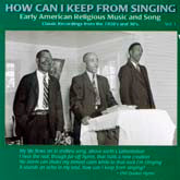 VARIOUS ARTISTS 'How Can I Keep From Singing, Vol. 1'