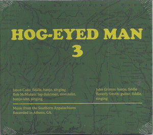 HOG-EYED MAN 3 YODEL-104-CD