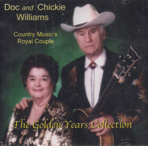 DOC & CHICKIE WILLIAMS 'The Golden Years Collection' VR-404-92