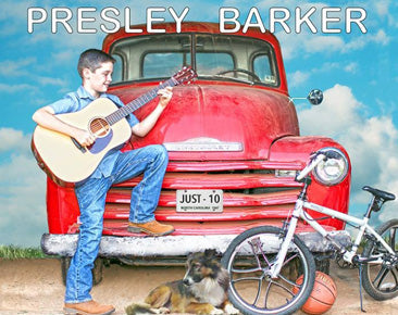 PRESLEY BARKER  'Just 10'   JUST-10-CD