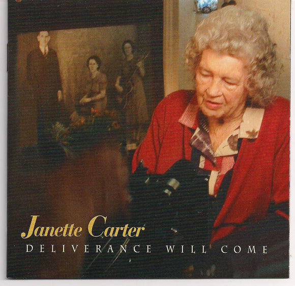 JANETTE CARTER 'Deliverance Will Come' BCD 16335-CD