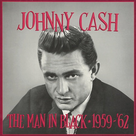 JOHNNY CASH 'The Man in Black 1959/62' (5 CD) BCD-15562-CD