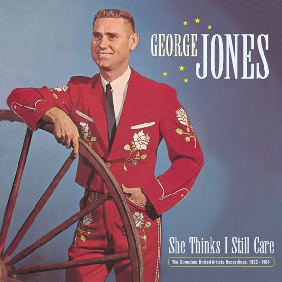 GEORGE JONES 'She Thinks I Still Care, 1962-1964'  Deluxe 5-CD Box Set BCD-16818-CD