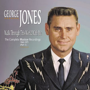 GEORGE JONES 'Walk Through This World With Me' 1965-1971 BCD 16928-5CD
