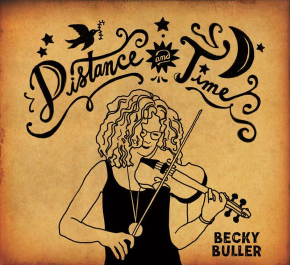 BECKY BULLER 'Distance and Time' DSR-202002-CD