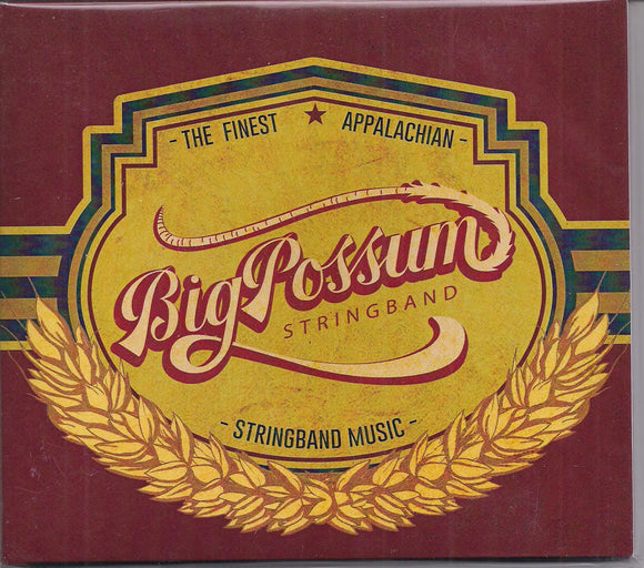 BIG POSSUM STRINGBAND 'The Finest Appalachian Stringband Music'  BPS-2019-CD