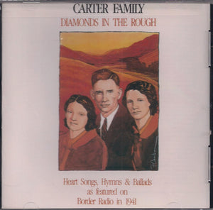 CARTER FAMILY 'Diamonds in the Rough' CCCD-0107-CD