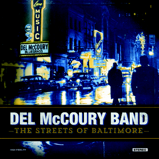 DEL MCCOURY BAND 'The Streets of Baltimore' MCM-0017-CD