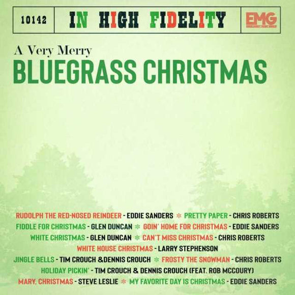 VARIOUS 'A Very Merry Bluegrass Christmas' EMG-10142-CD