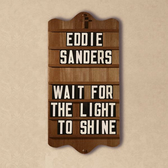 EDDIE SANDERS 'Wait For the Light To Shine' EMG-10180-CD