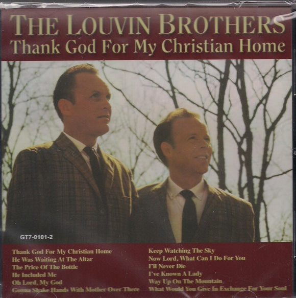 LOUVIN BROTHERS 'Thank God for My Christian Home'