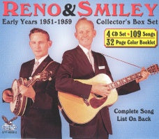 RENO & SMILEY 'Early Years: 1951-1959'