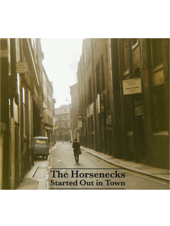 THE HORSENECKS 'Started Out In Town' TIKI-019-CD