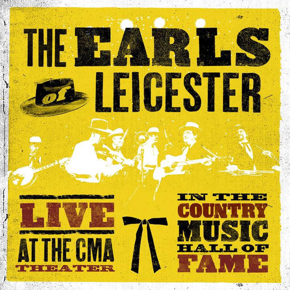 EARLS OF LEICESTER  'Live at The CMA'     ROU-00425-CD