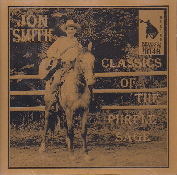 JON SMITH 'Classics of the Purple Sage' CD-9046