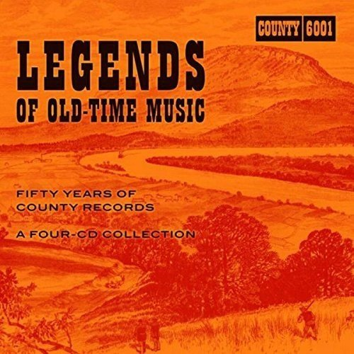 VARIOUS ARTISTS Legends of Old Time Music 'Fifty Years of County Records' CO-6001-4CD